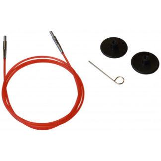 KnitPro Wire / Kabel til Udskiftelige Rundpinde 76cm (Bliver 100cm ink