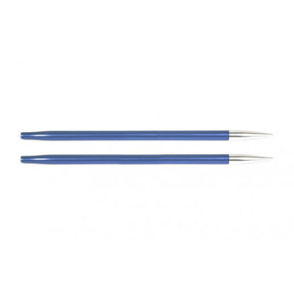 KnitPro Zing Udskiftelige Rundpinde Aluminium 13cm 4,50mm / US7 Iolite