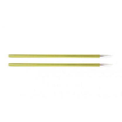 KnitPro Zing Udskiftelige Rundpinde Aluminium 9cm 3,50mm / US4 Chrysol