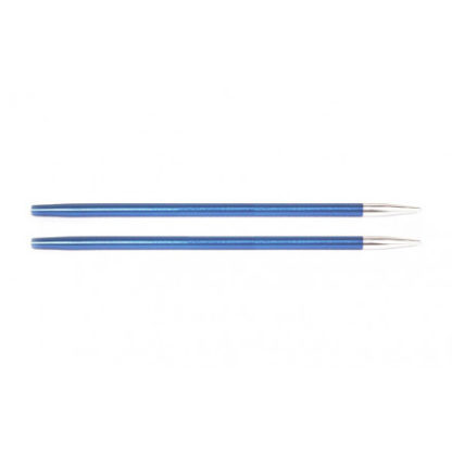 KnitPro Zing Udskiftelige Rundpinde Aluminium 9cm 4,00mm / US6 Sapphir