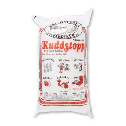 Kuddstopp Fyldevat/Bamsefyld/Dukkefyld/Pudefyld/Vat 1000 gram