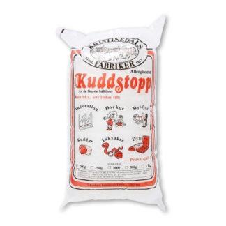 Kuddstopp Fyldevat/Bamsefyld/Dukkefyld/Pudefyld/Vat 300 gram