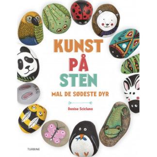 Kunst på sten - mal de sødeste dyr - Bog af Denise Scicluna