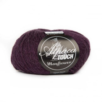 Mayflower Alpaca Touch Garn Unicolor 18 Aubergine