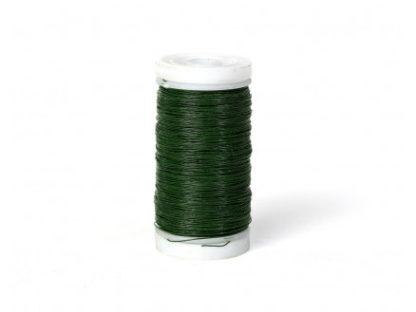 Myrtetråd / Blomstertråd Grøn 0,28mm 100 g