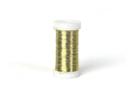 Myrtetråd / Blomstertråd Guld 0,30mm 100 g