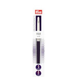 Prym Ergonomics Hæklenål Plast 18cm 10,00mm / US N/15