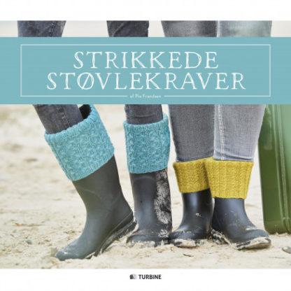 Strikkede støvlekraver - Bog af Pia Frandsen