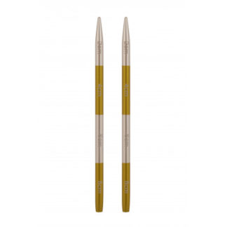 KnitPro SmartStix Korte Udskiftelige Rundpinde Aluminium 9cm 3,50mm