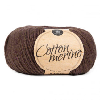 Mayflower Easy Care Cotton Merino Garn Solid 30 Bregnebrun
