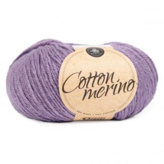 Mayflower Easy Care Cotton Merino Garn Solid 35 Lilla Dis