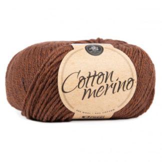 Mayflower Easy Care Cotton Merino Garn Solid 42 Brunette