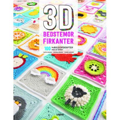 3D bedstemor-firkanter - Bog af Catie Moore, Sharna Moore, Celine Sema
