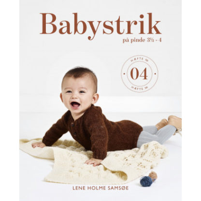 Babystrik på pinde 3 1/2 - 4 - Bog af Lene Holme Samsøe