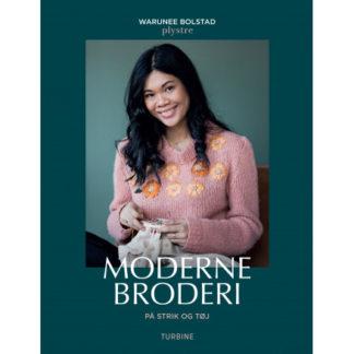 Moderne broderi på strik og tøj - Bog af Warunee Bolstad