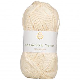 Shamrock Yarns 100% Bomuld 8/4 Garn 03 Natur
