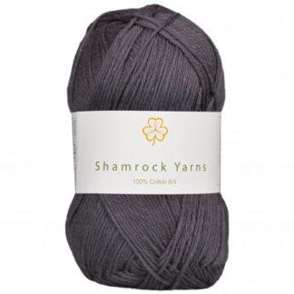 Shamrock Yarns 100% Bomuld 8/4 Garn 06 Mørk Koksgrå