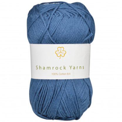 Shamrock Yarns 100% Bomuld 8/4 Garn 09 Marineblå