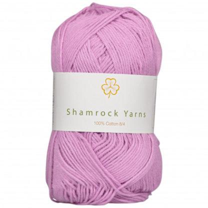 Shamrock Yarns 100% Bomuld 8/4 Garn 18 Støvet Lys Rosa