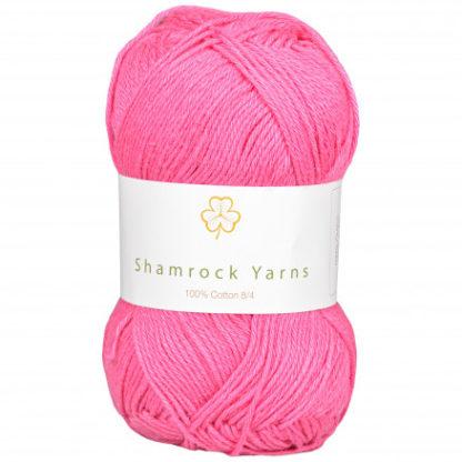 Shamrock Yarns 100% Bomuld 8/4 Garn 19 Støvet Rosa
