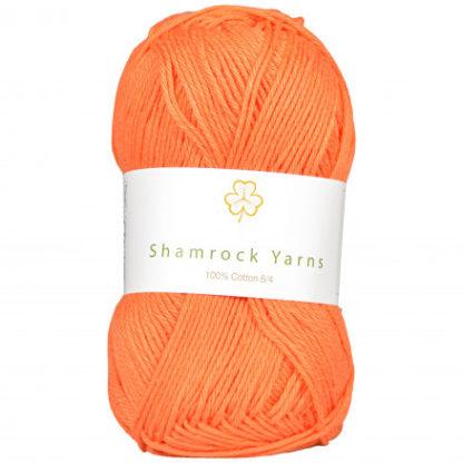Shamrock Yarns 100% Bomuld 8/4 Garn 24 Støvet Lys Orange