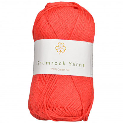 Shamrock Yarns 100% Bomuld 8/4 Garn 28 Rød