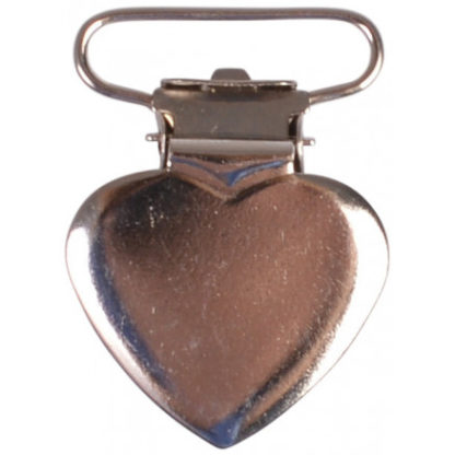 Infinity Hearts Seleclips Metal Hjerte - 1 stk