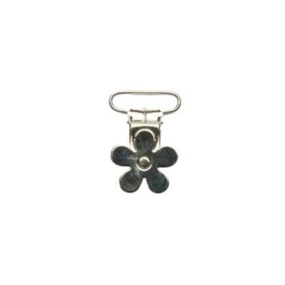 Seleclips Metal Blomst 25mm - 1 stk