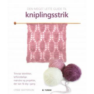 Den meget lette guide til kniplingsstrik - Bog af Lynne Watterson
