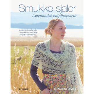 Smukke sjaler i shetlandsk kniplingsstrik - Bog af Elizabeth Lovich