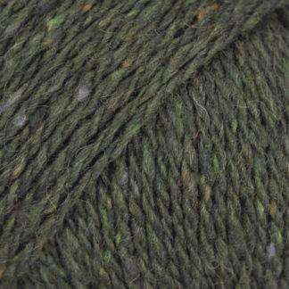 Drops Soft Tweed Garn Mix 17 Spinach Pie
