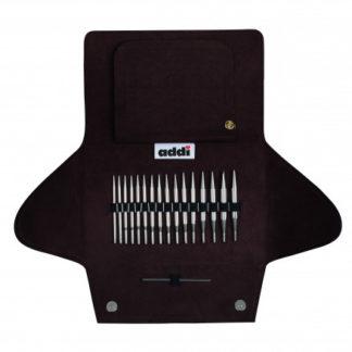 Addi Click Lace Korte Udskiftelige Rundpindesæt 40-100cm 3,5-8mm - 8 s