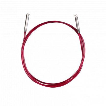 Addi Lace Click Wire/Kabel Korte 100cm inkl. pinde