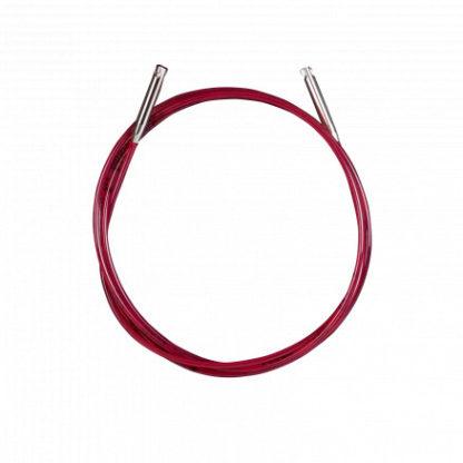 Addi Lace Click Wire/Kabel Korte 80cm inkl. pinde