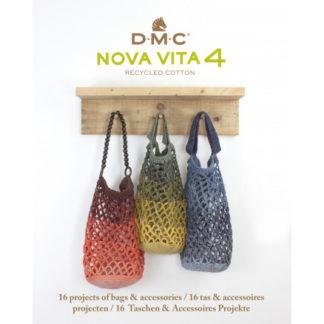 DMC Nova Vita 4 Opskriftsbog - 16 Tasker & Accessories